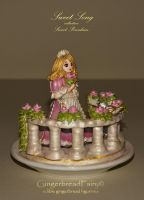 Sweet Song. Gingerbread figurine by GingerbreadFairy