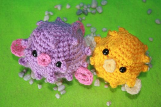 Amigurumi Puffer-Fish II by heavenlystuffed