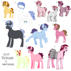 OLD DESIGNS AND NEXTGEN SALE- 1 (OPEN) by PatchworkPupper