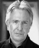 Alan Rickman by Quelchii