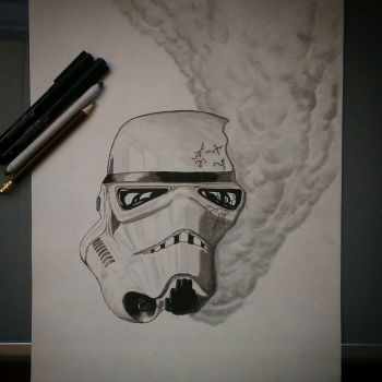 Dyingtrooper by almberger
