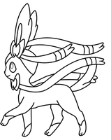 Jolteon coloring page 2 by Bellatrixie White on DeviantArt