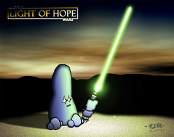 Star Wars - Light of Hope by DiggerEl7