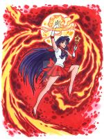Sailor Mars Commission by timshinn73