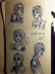 Some sketches (: by RM-LM