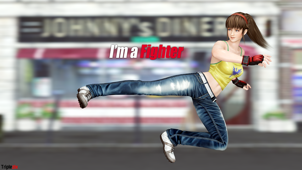 I'm a Fighter - Hitomi by triplezix