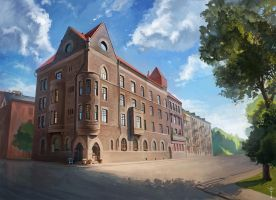 Building in Vyborg by WolfsECHO