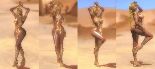 Helena Desert Queen Set 1 of 3 by repinscourge