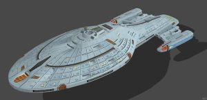 'Star Trek' U.S.S. Voyager (NCC-74600) 2.0 XPS!!! by lezisell