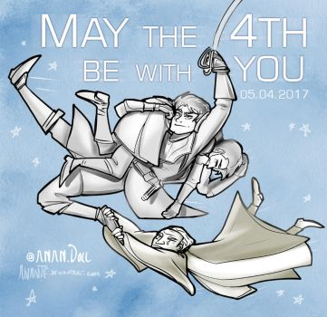 May the 4th be with You 2017 by Anante
