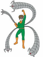 Doctor Octopus by Streetgals9000 by JQroxks21