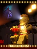 Projectionist - Lego by toddworld