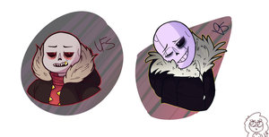 EdgeLord!Sans -Undertale Au's by Speckled-Waffle