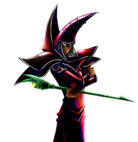 Dark Magician png by Carlos123321