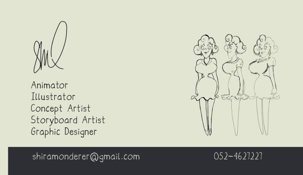 Business Card by shiramonderer