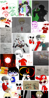Homestuck - Art Dump 3 by W-i-s-s-l-e-r