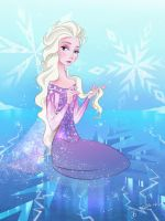 Mysterious Elsa by Evelyn2d