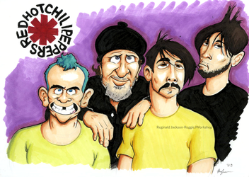 Red Hot Chili Peppers by ReggieJWorkshop