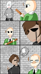 No Bullying in the Halls! (Baldis Basics Comic) by AngelicWolfie05