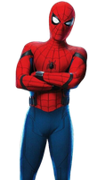 Spider-Man: Homecoming - Transparent Background! by Camo-Flauge