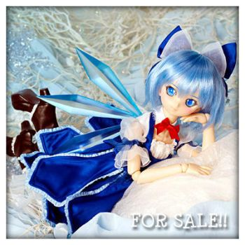 FOR SALE VOLKS DOLLFIE DREAM CIRNO TOUHOU PROJECT by fransyung