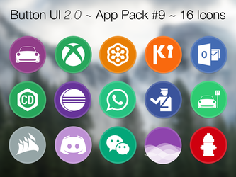 Button UI 2.0 ~ App Pack #9 by BlackVariant