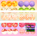 Fruit Divisor  Pack F2U by GzanyKat