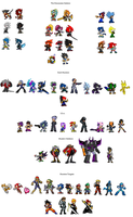 DS Character List by RustyDaPup