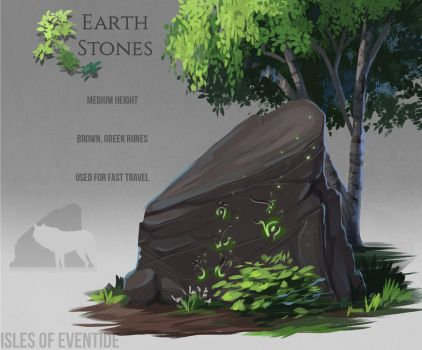 Earthstone concept by Chickenbusiness