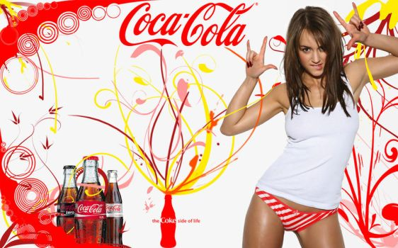 Coca Cola Wallpaper by FOLiM