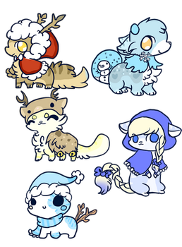 :200 points Adoptables(closed): by PrePAWSterous
