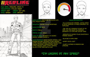 Redline: Dossier Page 1 by itsago