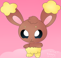 Cute Buneary~ by P4ND4-ST4R