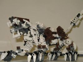 lego bionicle liger by retinence