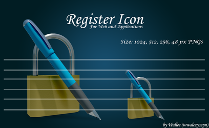 Register Icon by wwalczyszyn