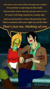 Gift: Thinking of you by JB-Warped