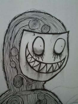 Creepy Mask by apolloscooter