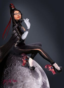 Bayonetta cosplay by allens