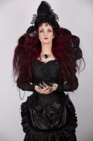 Stock - Gothic Dark woman hand pose dark fantasy by S-T-A-R-gazer