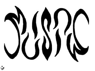 Music Ambigram by Happy-Pappy
