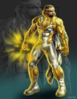 Commish 472: Golden Prince by rhardo