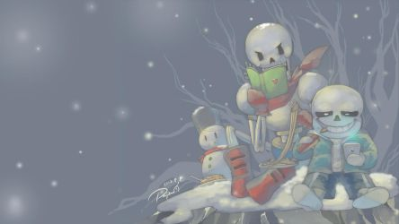 Undertale wallpaper by PAPAWS