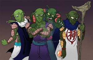 Piccolo's Mind by PookyWooky