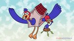 Wally Warbles (Request) by MarkHoofman