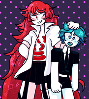 padparadscha gets knocked the frick out by Cybrile