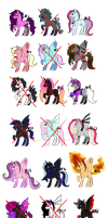 MLP Adopts 9/18 [OPEN] by NightFoxGangsters
