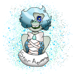 Star Aquamarine Pagedoll (Request) by Gay-Ray-Of-Sunshine
