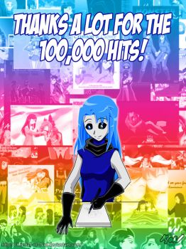 100,000 Hits! by Krystal-of-Nol