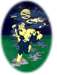 MLP Halloween - MoonSpots by elfgrove