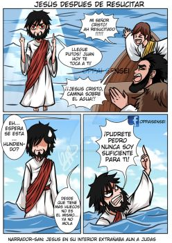 Jesus Regresa  by 0ppaiSensei